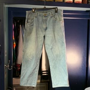 Vintage Wrangler Light Wash Jeans 36x29